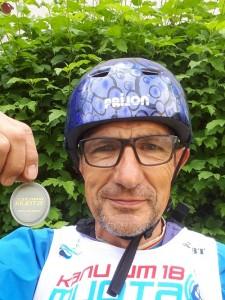 Médaille d'argent, Chpts du monde Masters Muothatal