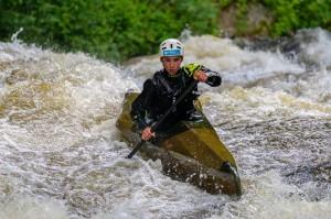 Emile dans le rapide de Treignac